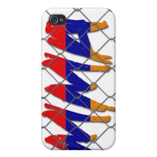 アルメニアMMAの白のiphone 4gケース iPhone 4 ケース