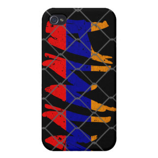 アルメニアMMAの黒いiphone 4gケース iPhone 4/4S カバー