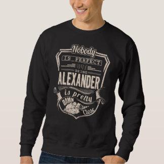 アレキサンダーかわいらしいですであることは。 ギフトの誕生日 スウェットシャツ