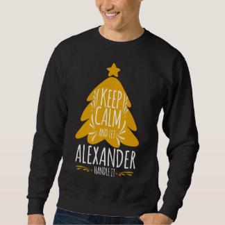 アレキサンダーのためのギフトのTシャツ スウェットシャツ