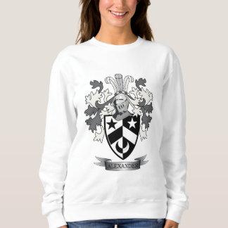 アレキサンダーの家紋の紋章付き外衣 スウェットシャツ