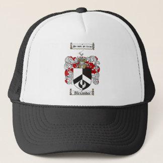 アレキサンダーの家紋-アレキサンダーの紋章付き外衣 キャップ
