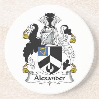 アレキサンダーの家紋 コースター
