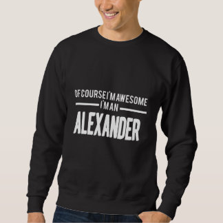 アレキサンダーのTシャツがある愛 スウェットシャツ