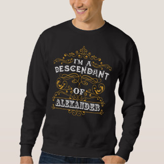 アレキサンダーのTシャツであることはよいです スウェットシャツ