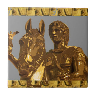 アレキサンダーアレキサンドリアエジプト: ヴィンテージの歴史 タイル