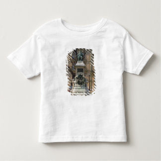 アレキサンダーデュマのpereの(1802-70年の)フランス語への記念碑 トドラーTシャツ