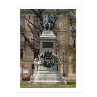 アレキサンダーデュマのpereの(1802-70年の)フランス語への記念碑 ポストカード