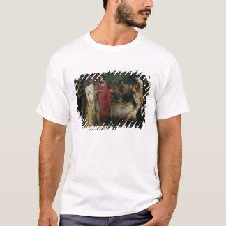 アレキサンダー大王およびRoxanaの結婚式 Tシャツ