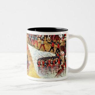 アレキサンダー大王がチグリス川をいかに交差させたか ツートーンマグカップ