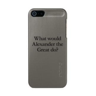 アレキサンダー大王する何が メタリックiPhone SE/5/5sケース