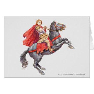 アレキサンダー大王のイラストレーション カード