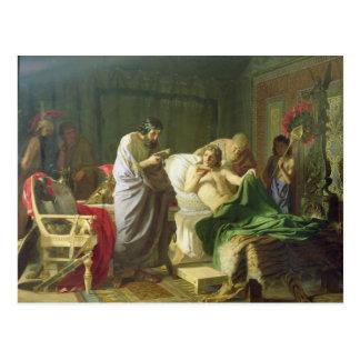 アレキサンダー大王の自信 ポストカード