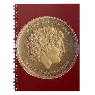 アレキサンダー大王、マケドニア人の王 ノートブック