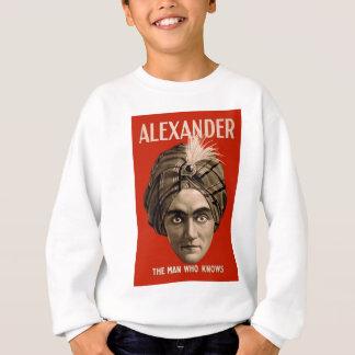 アレキサンダー知っている人 スウェットシャツ