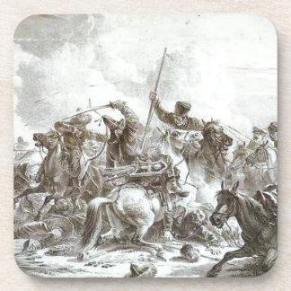 アレキサンダー著KirgizesのCossaksの戦い コースター