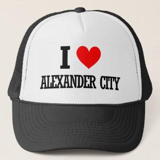 アレキサンダー都市、アラバマのデザイン キャップ