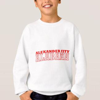 アレキサンダー都市、アラバマのデザイン スウェットシャツ