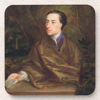 アレキサンダー・ポープ(1688-1744年) 1738年(キャンバスの油) コースター