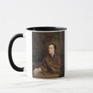 アレキサンダー・ポープ(1688-1744年) 1738年(キャンバスの油) マグカップ