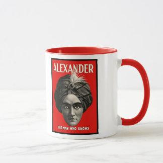 アレキサンダー-マグを知っている人 マグカップ