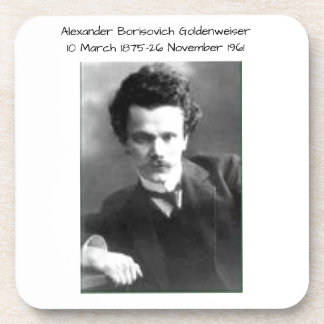 アレキサンダーBorisovich Goldenweiser コースター