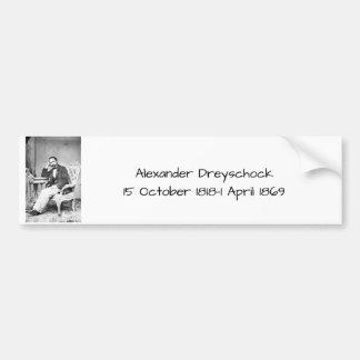 アレキサンダーDreyschock バンパーステッカー