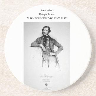 アレキサンダーDreyschock 1845年 コースター