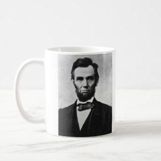 アレキサンダーGardner著エイブラハム・リンカーンのポートレート コーヒーマグカップ