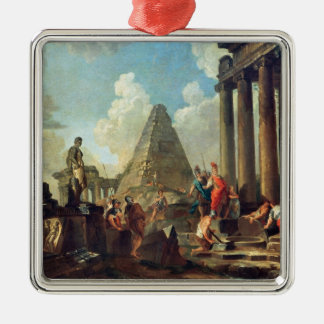 アレキサンダーIII墓の前の素晴らしいの メタルオーナメント
