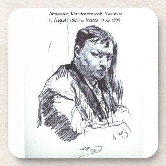 アレキサンダーKonstantinovich Glazunov 1899年 コースター