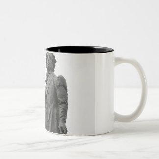 アレキサンダーPushkin、セント・ピーターズバーグの彫像 ツートーンマグカップ