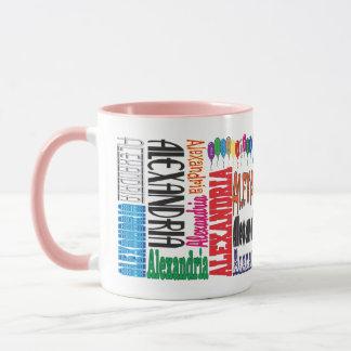 アレキサンドリアのコーヒー・マグ マグカップ