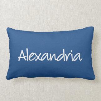 アレキサンドリアの枕-モダンな原稿 ランバークッション