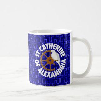 アレキサンドリアの聖者キャサリン コーヒーマグカップ