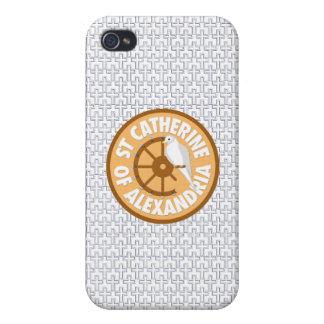 アレキサンドリアの聖者キャサリン iPhone 4/4Sケース