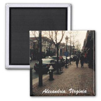 アレキサンドリアの通りの写真の磁石 マグネット