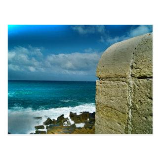 アレキサンドリアの青い海 ポストカード