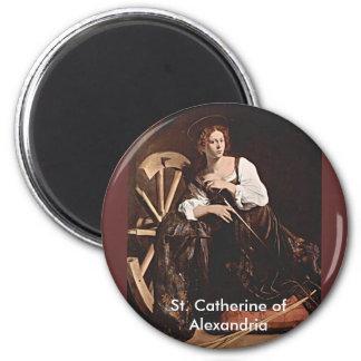 アレキサンドリアの11月26日St.キャサリン マグネット