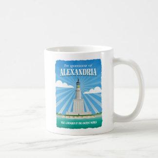 アレキサンドリアのPtolemaic灯台 コーヒーマグカップ