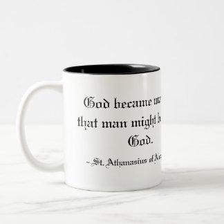 -アレキサンドリアのSt. Athanasius ツートーンマグカップ
