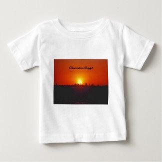 アレキサンドリアエジプト上の日没 ベビーTシャツ