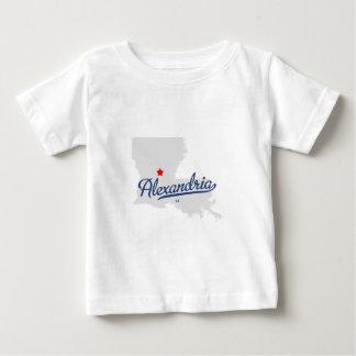 アレキサンドリアルイジアナのLAのワイシャツ ベビーTシャツ