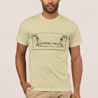 アレキサンドリアヴァージニア:  1749年以来気取った Tシャツ