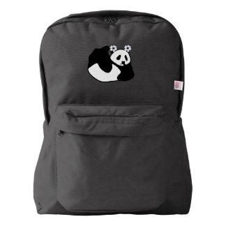 アレキサンドリア赤ん坊のパンダ AMERICAN APPAREL™バックパック