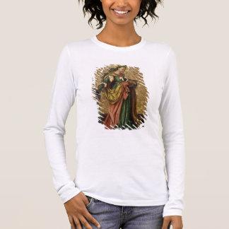 アレキサンドリア(パネルの油)のSt.キャサリン2 長袖Tシャツ