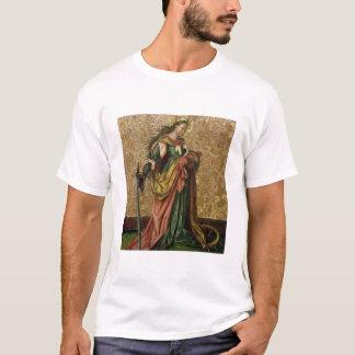 アレキサンドリア(パネルの油)のSt.キャサリン2 Tシャツ