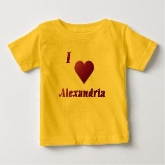 アレキサンドリア -- ワイン ベビーTシャツ