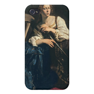 アレキサンドリア、Caravaggioの聖者キャサリン iPhone 4/4Sケース