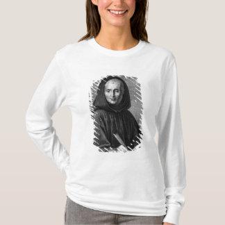アレキシスが刻むジーンMabillonのポートレート Tシャツ